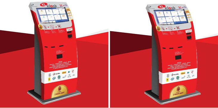 KL Kiosk, Mesin Digital Pintar Zaman Now