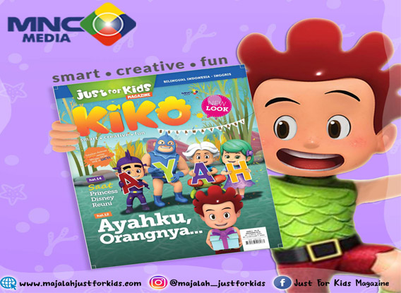 Cover Majalah Just For Kids Edisi November 2018