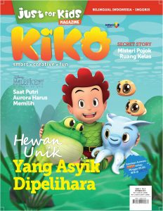 Cover Just For Kids edisi Oktober 2019