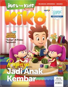 Cover Majalah Just For Kids Edisi Februari 2020