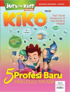 Cover Just For Kids Edisi Juni 2020