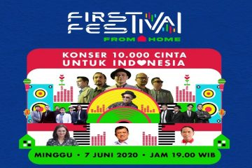 "First Media Hadirkan First Festival From Home ""10.000 Cinta Untuk Indonesia"""