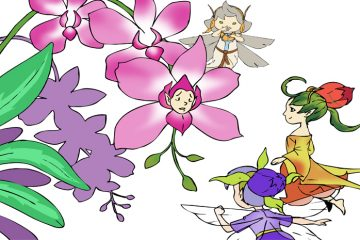 "Serial Peri ""Dinda dan Novi"" : Kisah Bunga Anggrek (Dinda and Novi Fairy Series: The Story of The Orchid )"