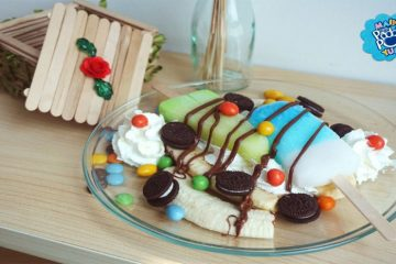 Paddle Pop Banana Split