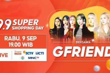 GFRIEND Meriahkan TV Show Shopee 9.9 Super Shopping Day