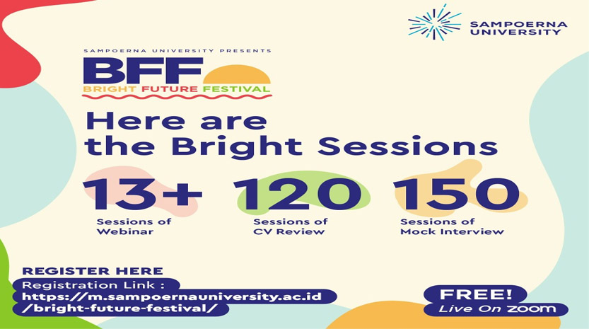 "Sampoerna University Gelar ""Bright Future Festival"" Selama 4 Hari"