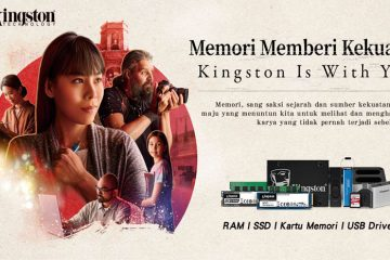 Memori Memberi Kekuatan Kingston Is With You